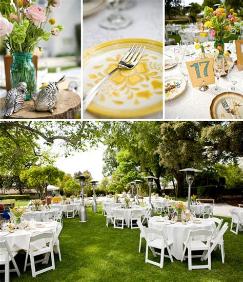 Outdoor Wedding Pictures by Real Wedding Brent S Outdoor Wedding Green