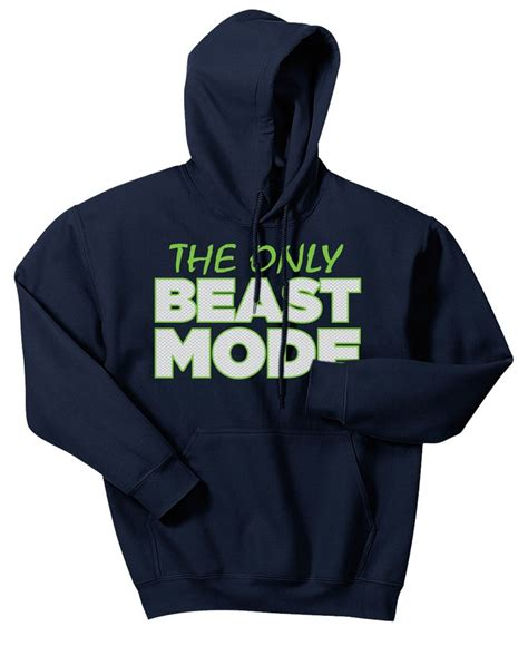 Sleeveless Hoodie Beast Mode quot the only beast mode quot hoodie community board 12 12 12 beast mode hoodie and hawks