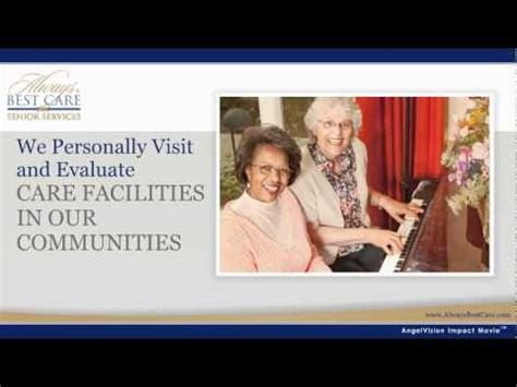 always best care assisted living senior services and home