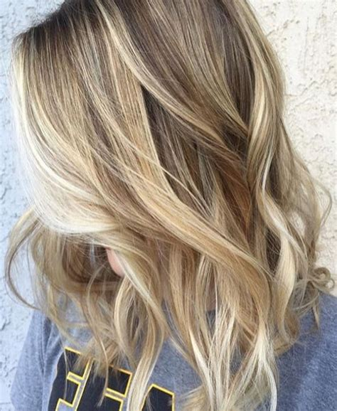 hairstyles for short highlighted blond hair elegant assorted blonde toned highlights with natural mid