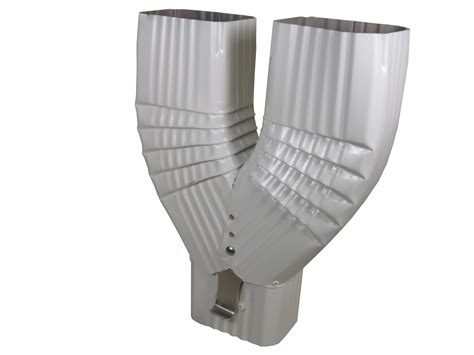 K Funnel Gutter - the y funnel does not a latch and is used to run two