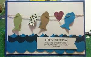 fishing birthday card cards birthdays fishing and birthday cards