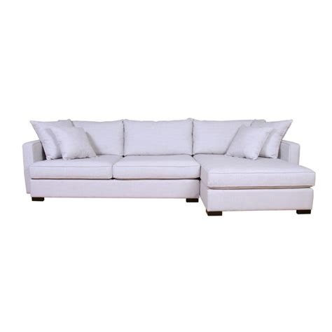 crosby sofa with chaise crosby sectional home envy furnishings canadian made