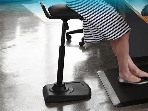 varidesk adjustable standing desk chair petagadget