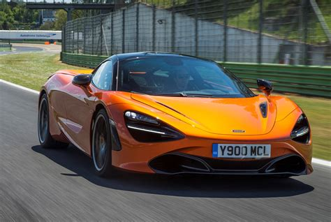 orange mclaren 720s mclaren 720s coupe review parkers