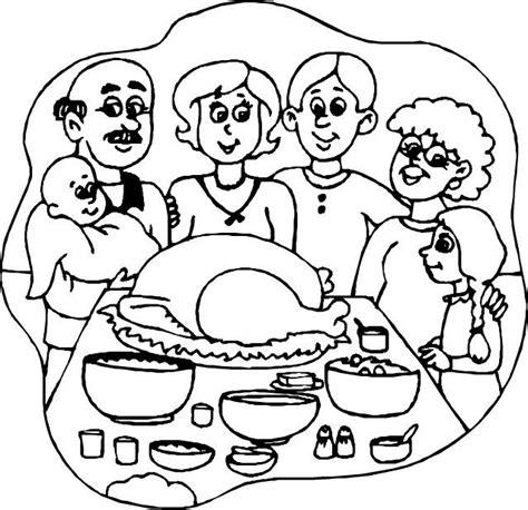 family meal coloring page imagens para pintar fam 205 lias cantinho do educador infantil