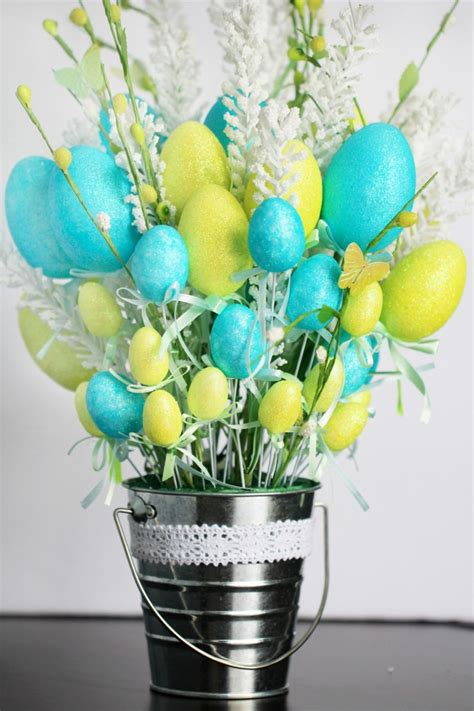 easter arrangements easy easter egg flower arrangement frugal eh
