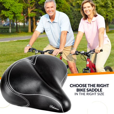the most comfortable bike saddle bikeroo comfortable bicycle seat for men men s bike