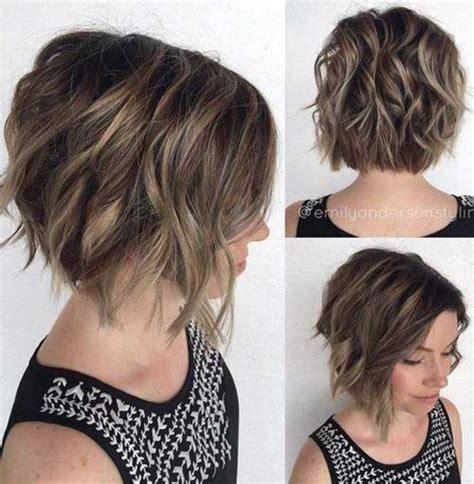 haircuts for wavy hair 15 short haircuts for thick wavy hair short hairstyles 2016 2017 most popular short