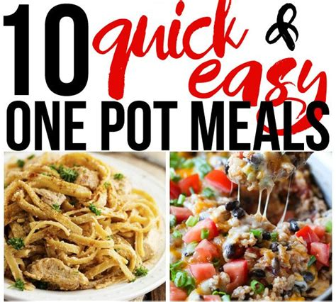 10 quick and easy one pot meals here comes the sun