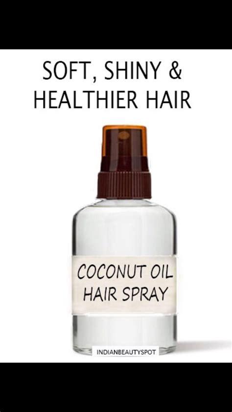 diy setting spray coconut coconut leave in conditioner spray bigdiyideas