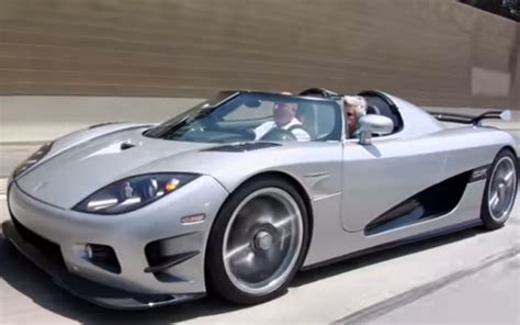 koenigsegg trevita owners jay leno discovers the joy of koenigsegg 6speedonline
