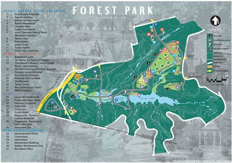 forest park map hiking trails livewell springfield
