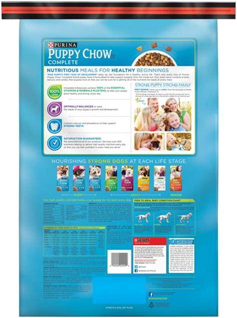purina puppy chow feeding chart purina puppy chow feeding chart purina puppy chow complete food bonus size hy