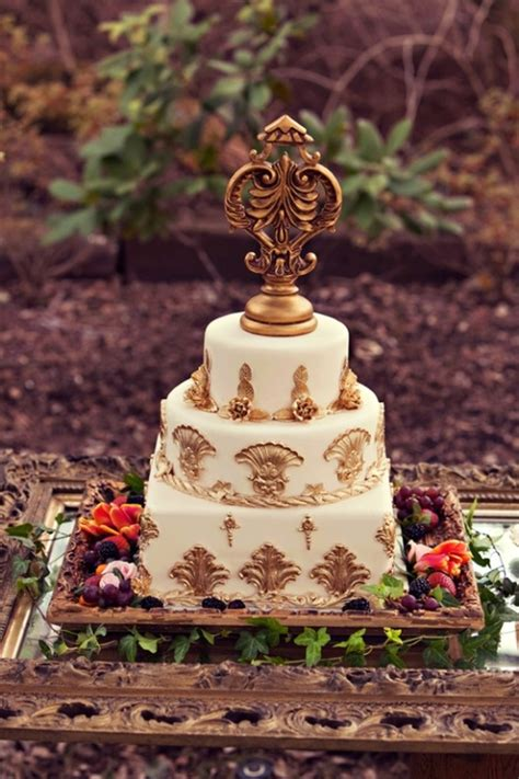 picture of baroque style wedding inspiration
