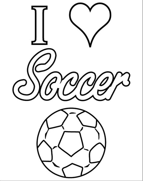 Lets Color 14 Soccer Coloring Pages Print Color Craft Soccer Color Pages