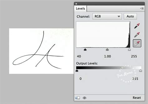 adobe photoshop watermark tutorial video tutorial create a watermark from your signature in