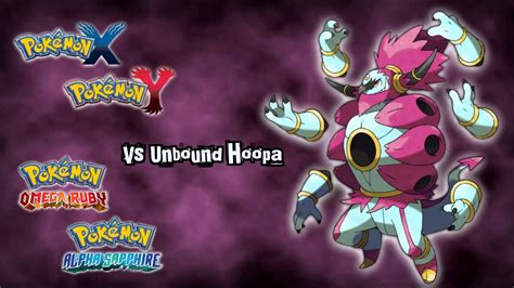 pokemon xyoras  unbound hoopa unofficial oc youtube
