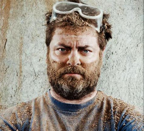 nick offerman out there canoes and ladies night inside nick offerman s woodshop