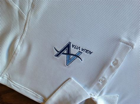 custom embroidery shirts av custom embroidered shirts aqua vita