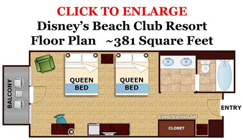 disney vacation club floor plans review disney s beach club resort beach club and disney s