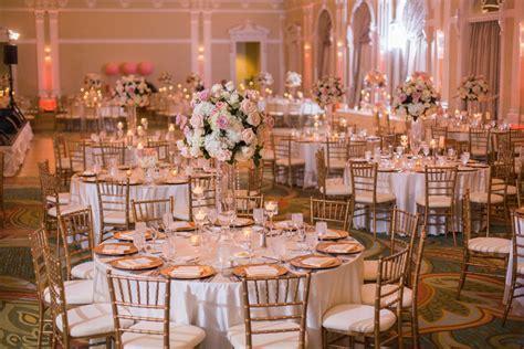 Rose Gold Wedding Decor