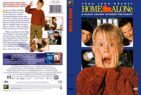 home alone dvd scanned covers 74homealone scan