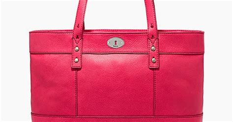 Tas Wanita Fossil Marvel H review tas branded wanita terbaru tas fossil shopper flaminggo pink