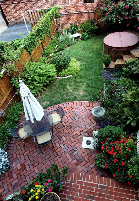 Big Ideas For Small Backyards Small Backyard Landscaping Ideas