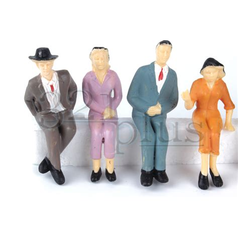 1 24 figures women model 10 pcs sitting 1 24 scale figures g scale figures human 1 25 ebay