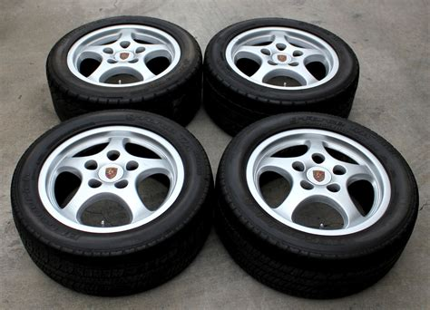 porsche oem wheels porsche oem c2 5 spoke cup design wheels lightweight
