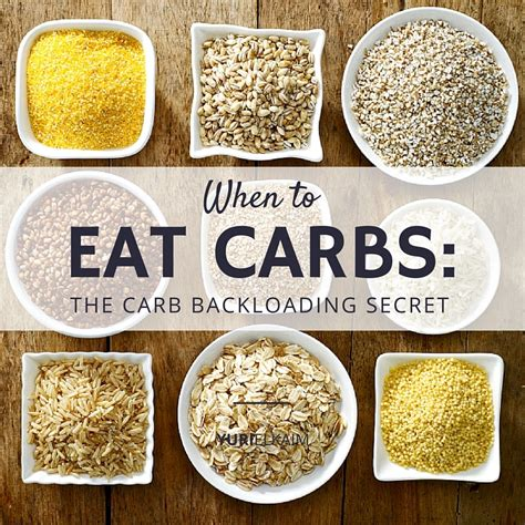 healthy fats that don t carbs when to eat carbs the carb backloading secret yuri elkaim