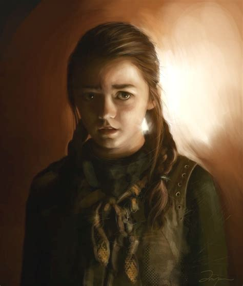 a portrait of the artist as a books arya stark images arya stark hd wallpaper and background