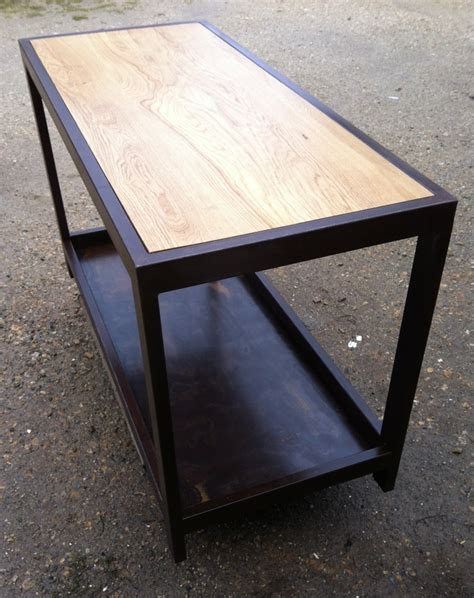 table comptoir table comptoir de cuisine 201 tabli m 233 tal et bois