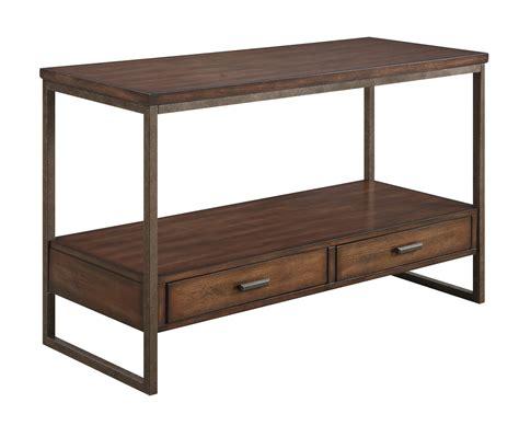 brown sofa table coaster 704309 sofa table light brown 704309 at