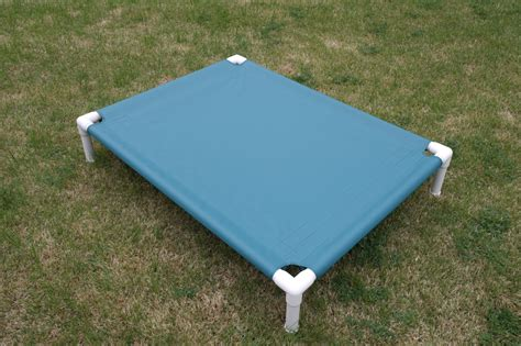 dog bed cot dog bed clearance pvc dog cot sale raised bed teal canvas