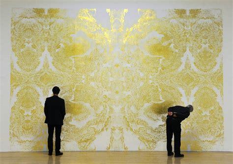 Metallic Bathroom Paint Brilliant Award Winning Gold Leaf Painting By Richard Wright