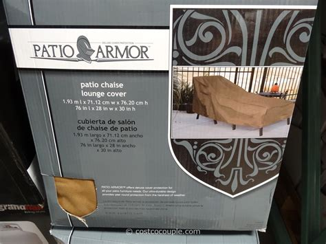 Patio Armor Lounge Cover Timber Ridge Zero Gravity Lounge Chair