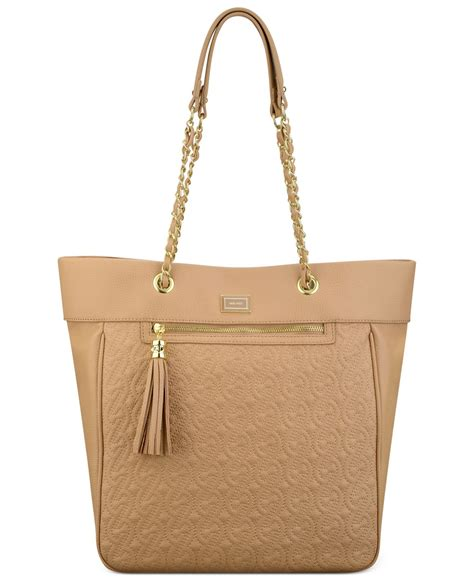 Nine West Quilted Tote by Nine West Quilted Chain Tote In Lyst