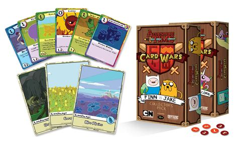 cards adventure time adventure time card wars collector s pack cryptozoic