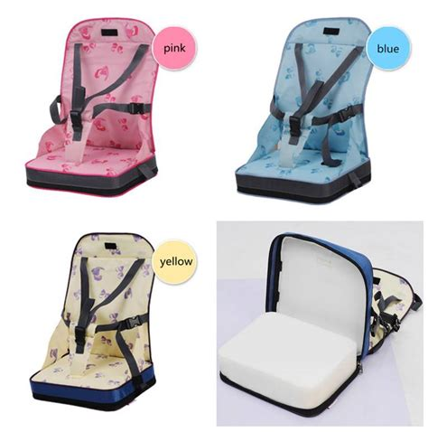 Dining Chair Booster Seat Portable Travel Foldable Baby Infants Dining Chair Booster Seat Harness 14001 Ebay