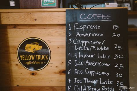 Yellow Truck Coffee Harga top 5 best coffee shops in jakarta