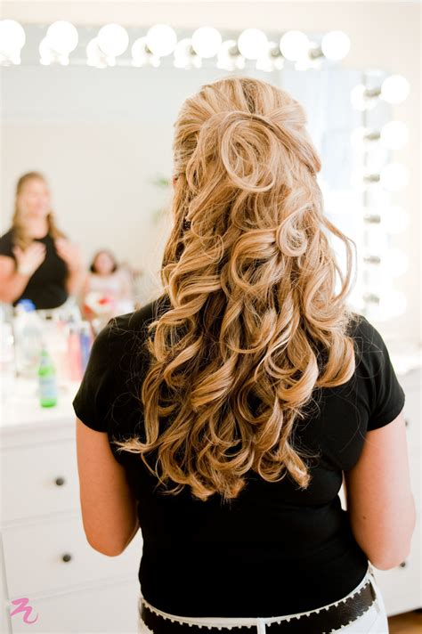 Soft Curl Hairstyle | soft wavy curls for bridal trial wedding triple twist