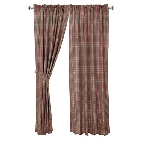 curtains plaid canavar ridge plaid curtains www bestwindowtreatments com