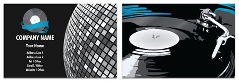 Disco Business Cards