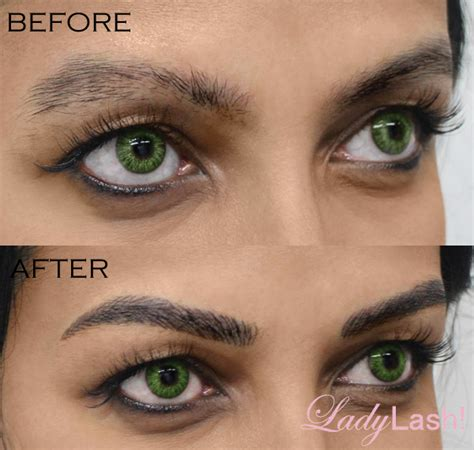 hair tattoo before and after eyebrows cosmetic browgame sydney cosmetic