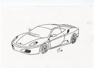 How To Draw A Enzo Step By Step F430 Sketch By Bowesmiester On Deviantart