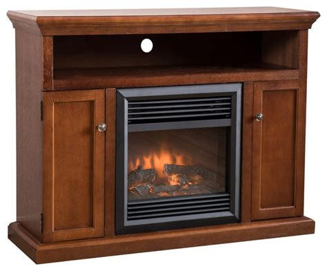 electric fireplace with remote gdfstudio ferris electric fireplace media console mantel