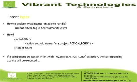intent android android android intent types