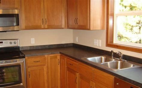 Kitchen photo laminate countertop